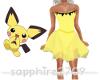 *S* Pichu_Dress