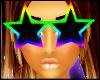 NL2-Rainbow Star Shades