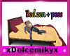 bed  zen whit poses