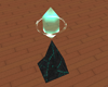 Teal Appeal Zen Crystal