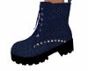 Starlite Boots-Blue