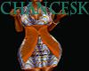 African 1 Dress  BBXL