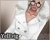 [Y] Winter white coat