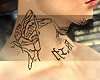 Angel Tattoo Neck