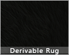 💜 Black Fur Rug