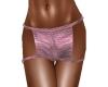 Metalic Hot Pants Pink