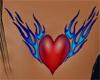 *SL* Flame Heart Tattoo