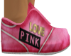 Woman's Pink Sneakers