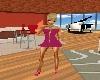 Pink Dress & Sandals