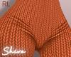 $ Knit Pants Orange RL