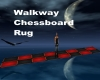 Walkway Chessboard Rug