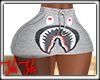 Bape Mini Skirt Gray RLL
