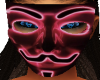 Neon Red Anom Mask