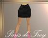 PdT Black Leather Skirt
