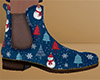 Christmas Ankle Boots 52