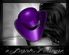 b purple samedi hat