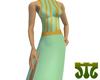 Papillon Silk Dress