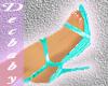 DB spike strap Aqua Heel