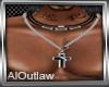 AOL-Cross Necklace M