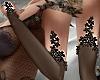 T- Gloves black Jewel