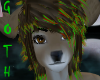 Sven reindeer amber eyes