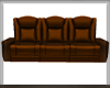 BROWN MODERN COUCH