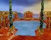 Romantic Roman pool!
