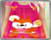 KIDS fox pajama/babydoll