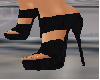plain black heels