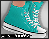 !V! Sneakers Teal