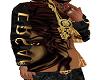Versace Brown Hoodie