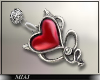 !M! Devil earrings