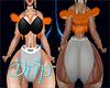 Sassy Drip Fur Vest Org