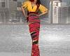African Print Pant Suit