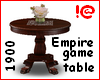 !@ Empire game table