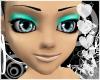 Cyan Eyeshadow