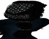 Blue Net Black  Hair