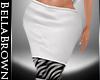 BB BM Zebra Skirt