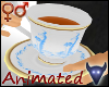 Guilded tea cup (m/f)