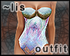 Aquatic I: bodysuit I