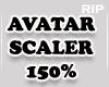 R. AVATAR SCALER 150% MF