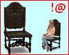 !@ Antique carved chair