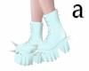 Aqua Kawaii Spike boots