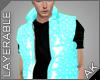 ~AK~ Puff Vest: Teal