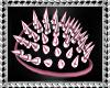 F| Pink Shoulder Spikes