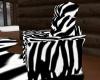 ZebraPrint Makeout Chair