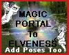 Magic Elven Portal
