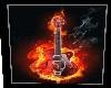 Flaming Guitar Pic