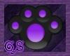 Purple Plushie Paws