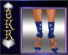 wave blue heels